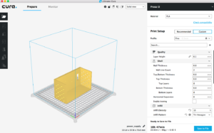 Cura Slicing Software
